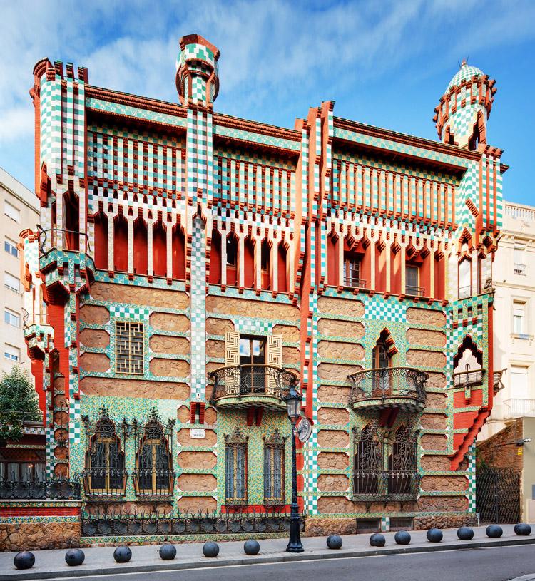 A Barcellona apre al pubblico Casa Vicens, la prima casa progettata da Antoni Gaudí