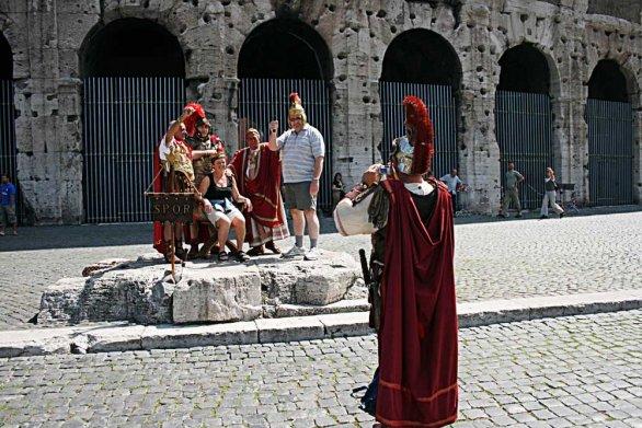 Roma respinge per sempre i centurioni
