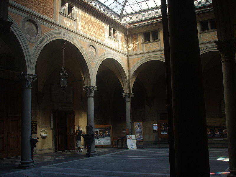 Firenze: terminato il restauro del Chiostrino dei Voti della Basilica della Santissima Annunziata