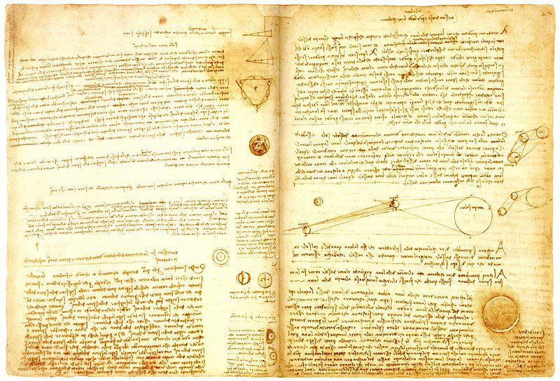 Torna in Italia il Codice Leicester di Leonardo da Vinci