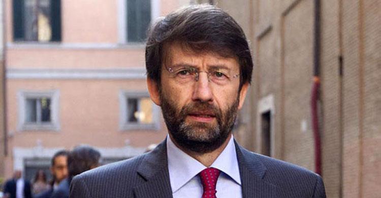 """Il ministro dei beni culturali Dario Franceschini: """"Lavoreremo per fare nuove e periodiche assunzioni"""""""