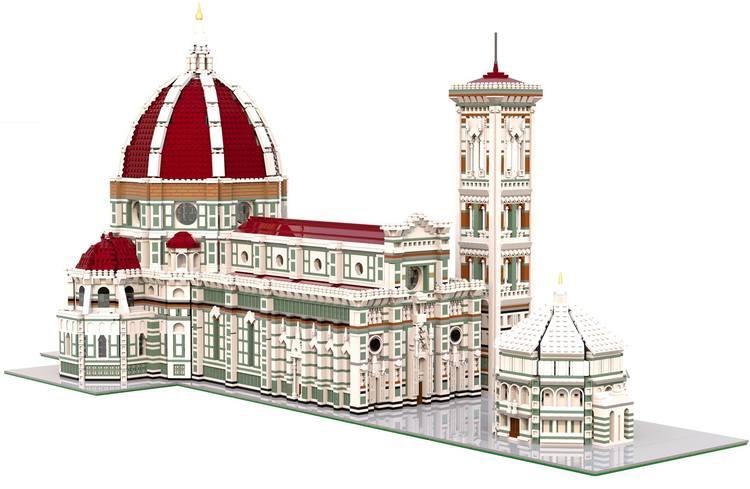 Il Duomo di Firenze diventa un'opera in Lego visitabile al Museo dell'Opera