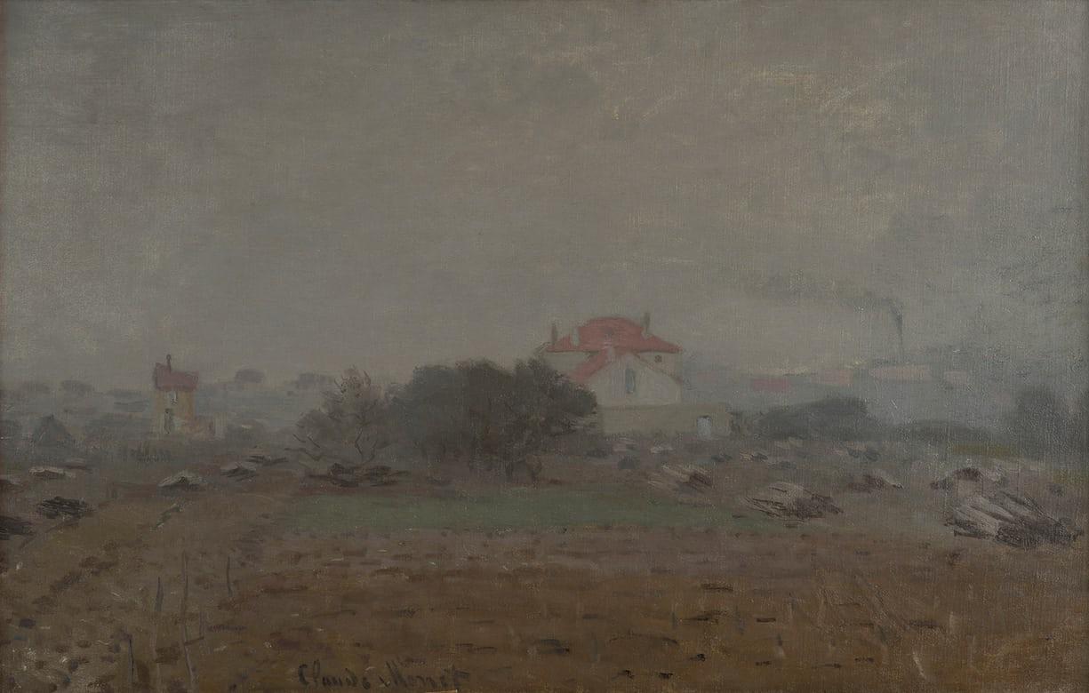Un dipinto di Claude Monet ritrovato grazie a Google