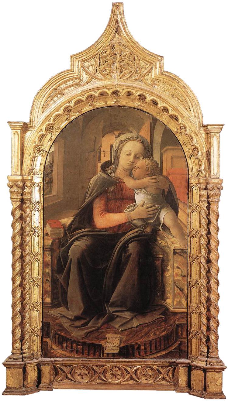 A Palazzo Barberini, una mostra-omaggio a Pietro Toesca sulla Madonna di Tarquinia di Filippo Lippi