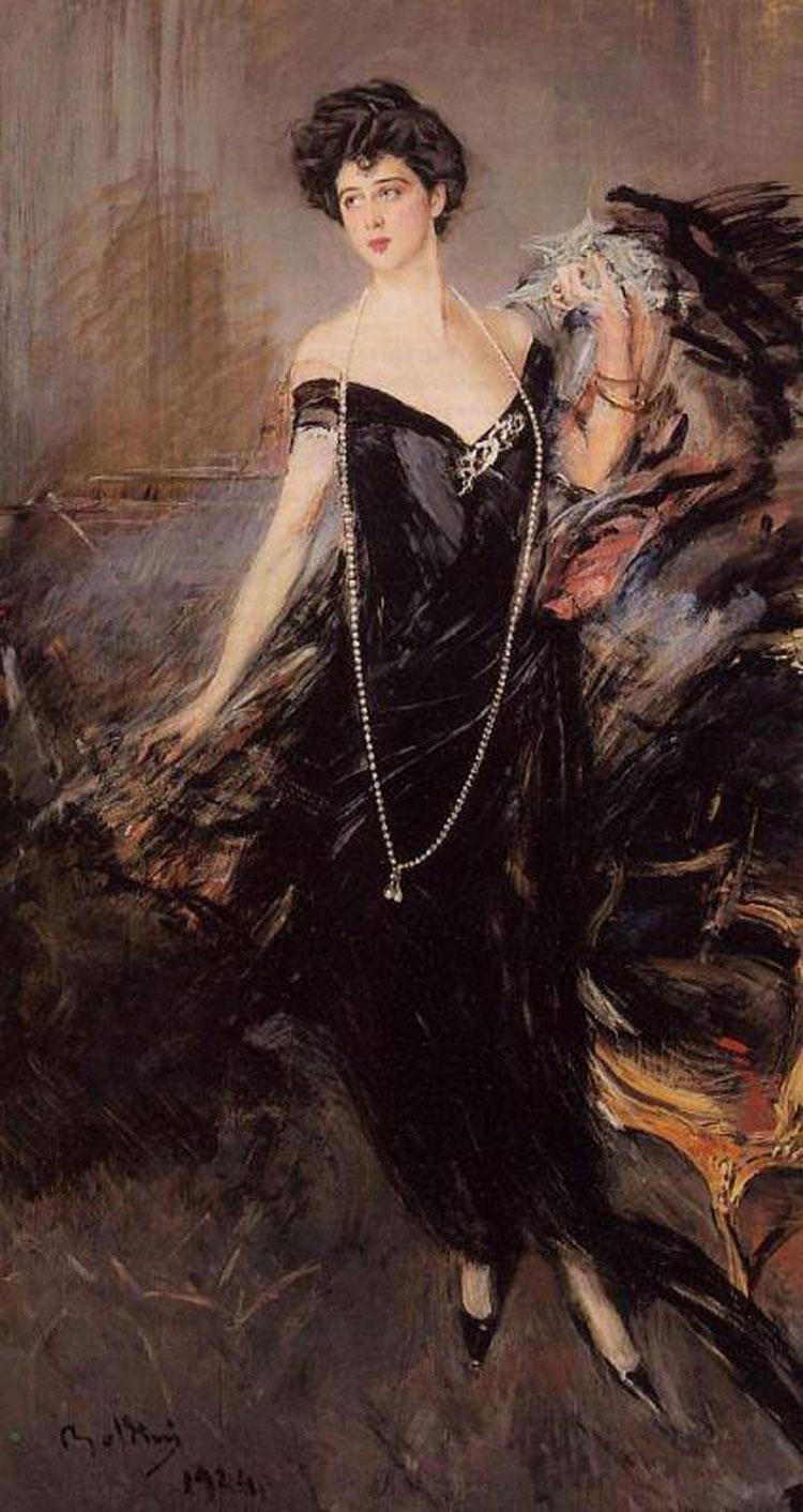 Il Ritratto di Donna Franca Florio di Boldini all'asta