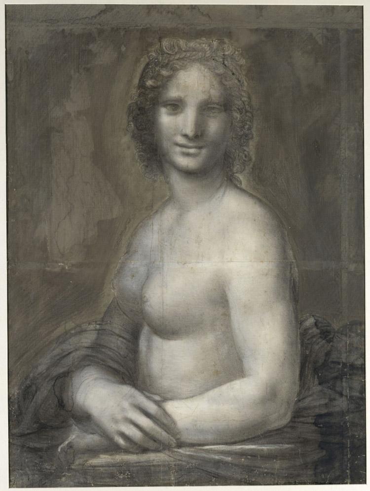 La Gioconda Nuda di Chantilly va in laboratorio per capire se è davvero di Leonardo da Vinci
