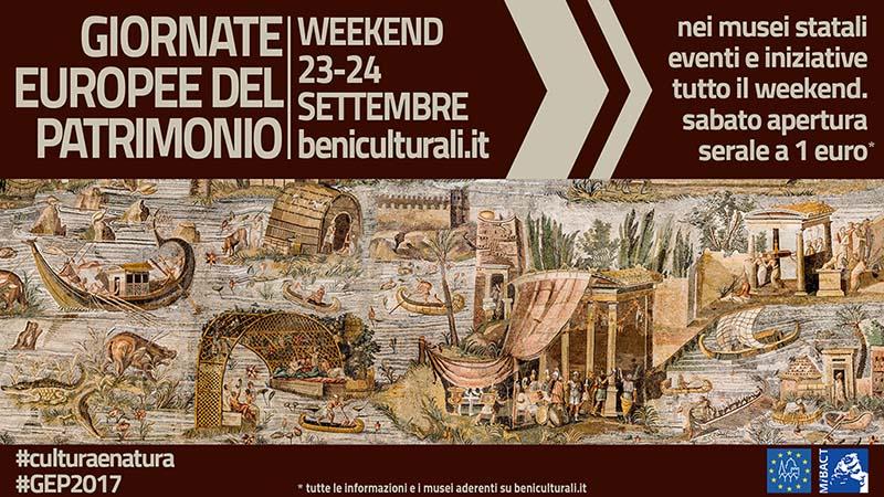 Giornate Europee del Patrimonio 2017 nei musei italiani: ecco dove