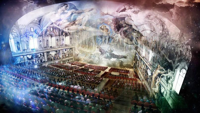 Michelangelo e i segreti della Cappella Sistina: nel 2018 lo spettacolo sul Giudizio Universale