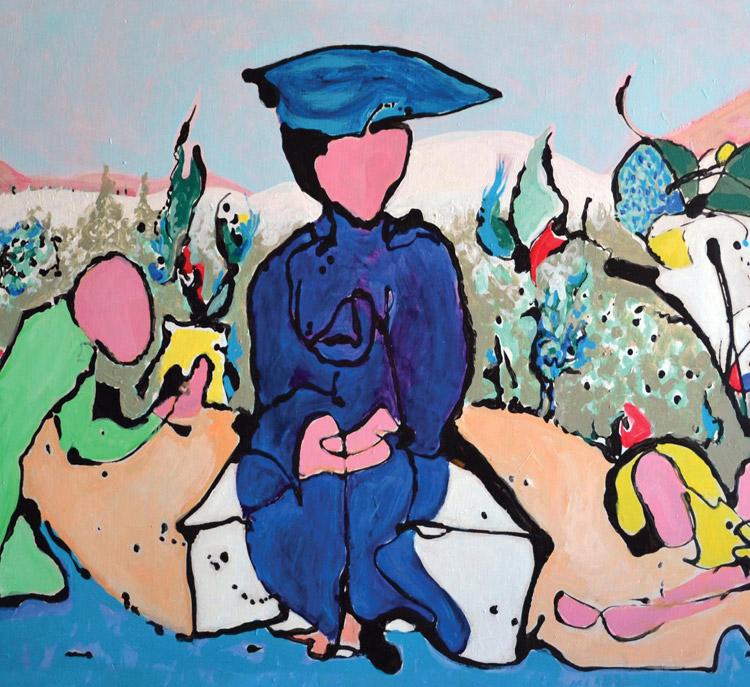 Hélène de Beauvoir tra fiume e mare: a Sarzana la mostra dedicata all'artista francese