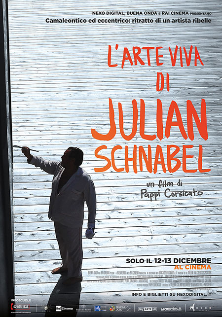 Arriva al cinema il film su Julian Schnabel