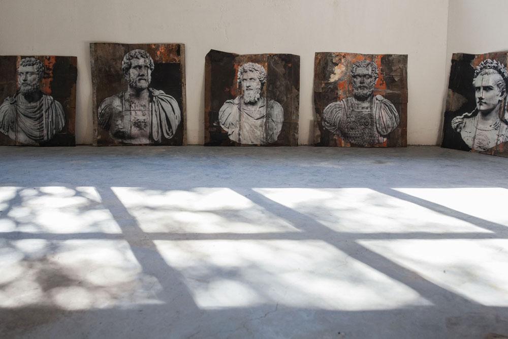 A Carrara la mostra di Luca Pignatelli, curata da Massimo Bertozzi e Antonio Natali