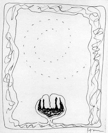 Non solo tagli: i disegni su carta di Lucio Fontana in mostra a Comabbio