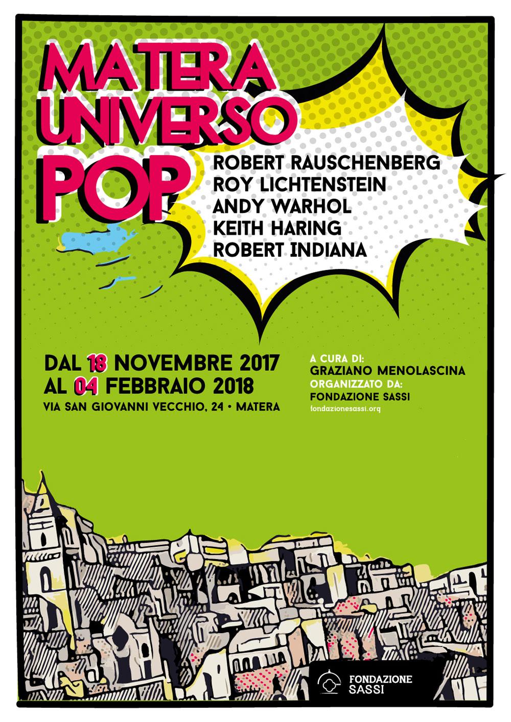 Matera Universo Pop: le opere della Pop Art in mostra alla Fondazione Sassi