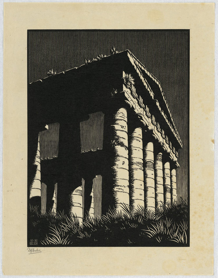 Catania via alla grande mostra su escher for Escher mostra catania