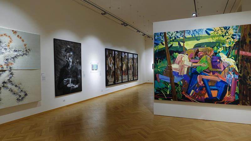 La nuove tendenze della pittura in un'importante mostra a Milano