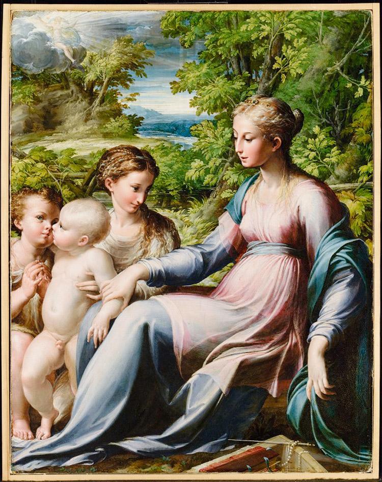 Il Getty di Los Angeles si assicura un dipinto del Parmigianino