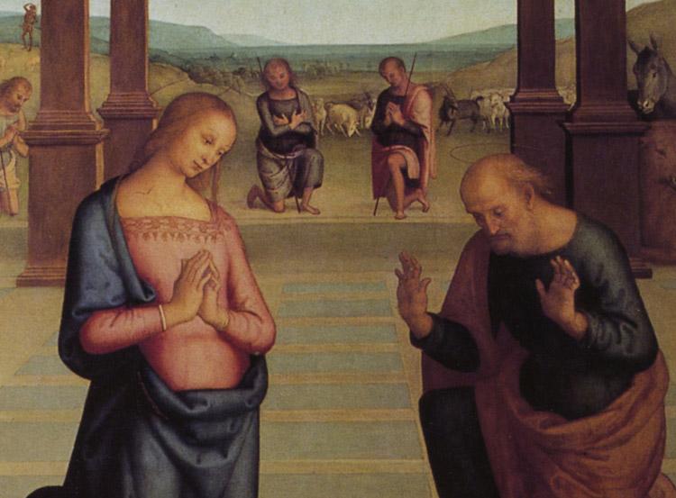 L'Adorazione dei Pastori del Perugino se ne va in trasferta natalizia a Milano