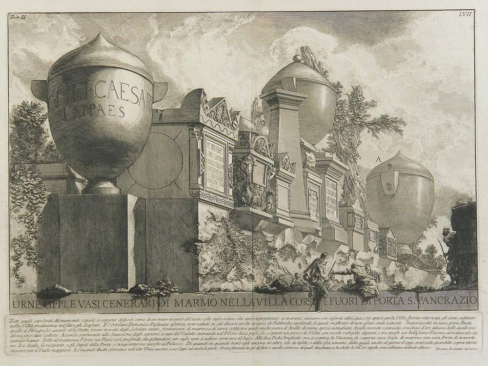 A Pesaro una mostra su Giambattista Piranesi e il sogno della classicità