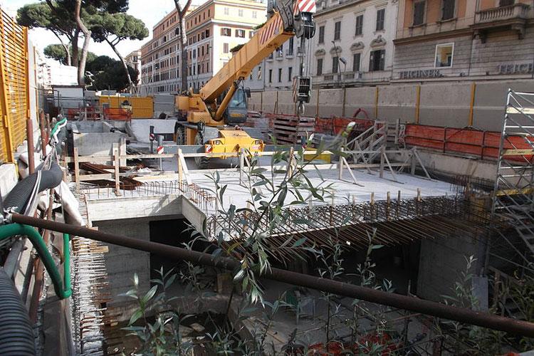 Roma come Pompei, sotto la metro mobili e mosaici di età imperiale