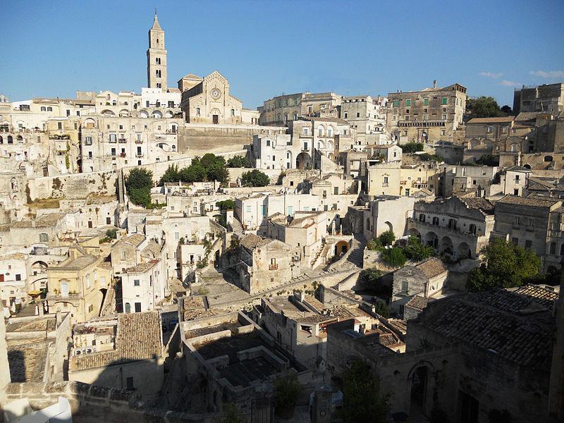 I Sassi di Matera al primo posto nella classifica italiana dei siti Unesco