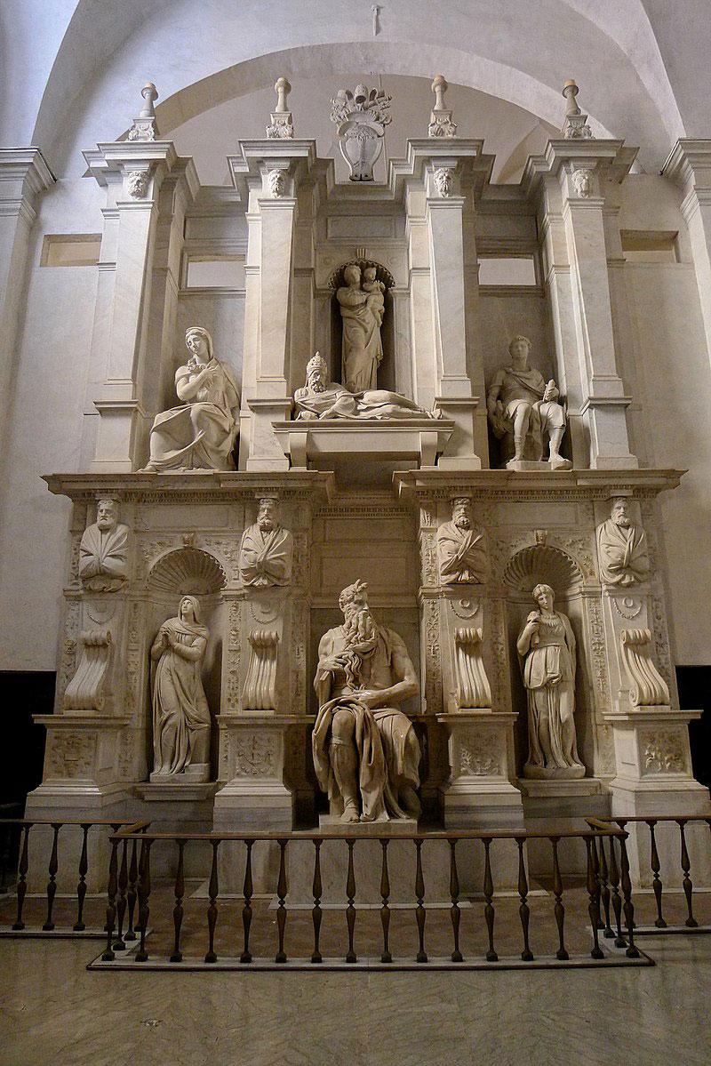Lo Sguardo di Michelangelo presentato in San Pietro in Vincoli
