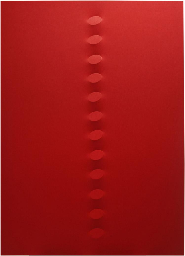 Le opere di Turi Simeti in una mostra antologica a Catanzaro