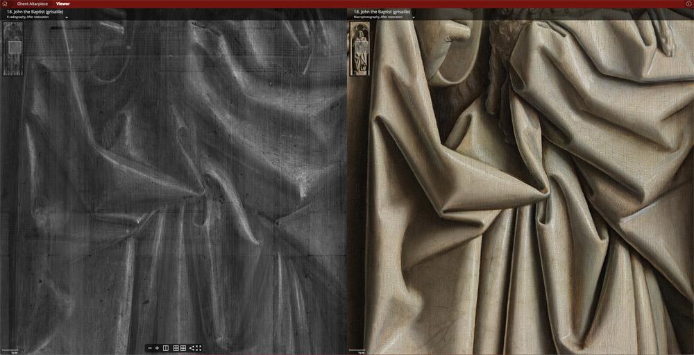 Un capolavoro di Jan van Eyck ad altissima risoluzione: il Polittico dell'Agnello Mistico per tutti sul web