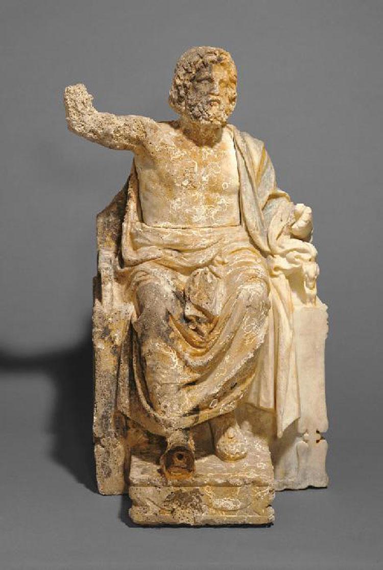Il Getty Museum di Malibu restituisce all'Italia statua di Zeus trafugata