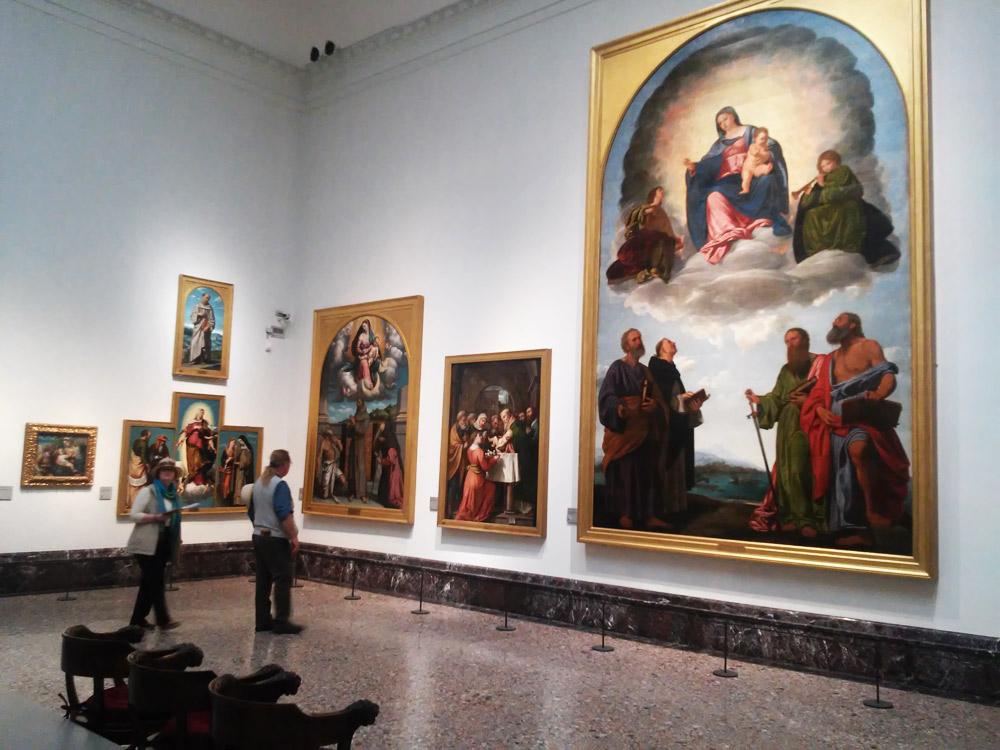 Sala XIV della Pinacoteca di Brera. Foto: Finestre sull'Arte