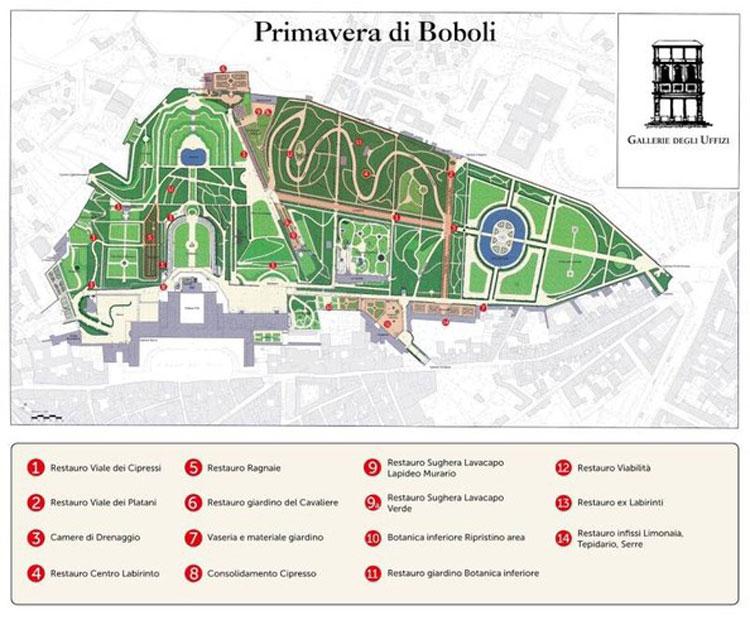 Il progetto Primavera di Boboli