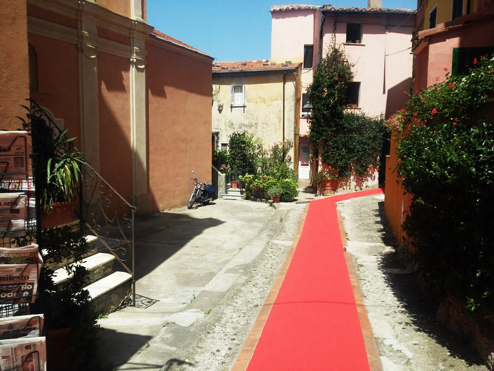 Il red carpet di Montemarcello (La Spezia)