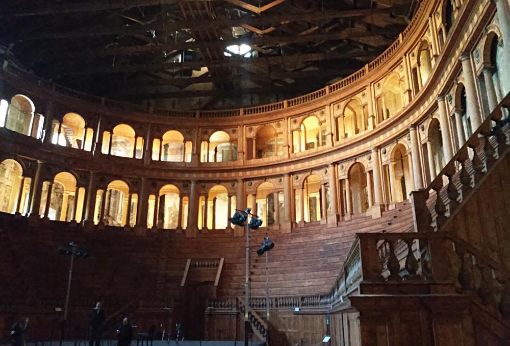Teatro Farnese, parte del Complesso monumentale della Pilotta di Parma