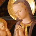 """Una delicatissima Madonna """"petrarchesca"""", quella di Zanobi Machiavelli a Fucecchio"""