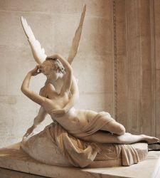 Amore e Psiche giacenti: la storia del capolavoro di Antonio Canova