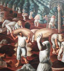 Il Brasile raccontato da Candido Portinari in mostra a Palazzo Pamphilj in piazza Navona