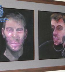 Spagna, la polizia recupera tre opere di Francis Bacon rubate nel 2015
