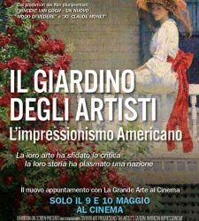 Il 9 e 10 maggio appuntamento al cinema con l'impressionismo americano