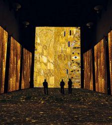 La Klimt Experience arriva anche alla Reggia di Caserta
