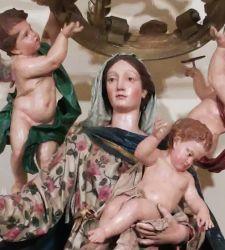 La Madonna del Rosario di Giovanni Antonio Cybei: una splendida macchina da processione