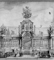 I disegni delle spettacolari scenografie architettoniche barocche tra Roma e le Fiandre