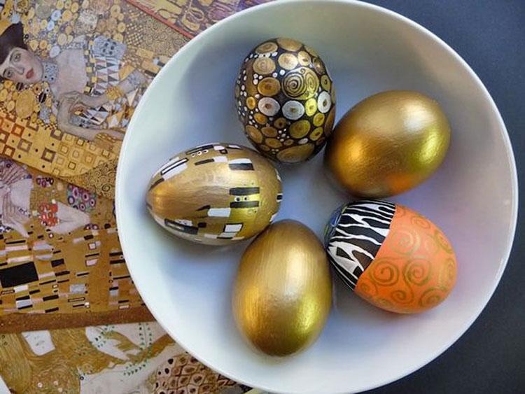 Le uova di Pasqua di Gustav Klimt