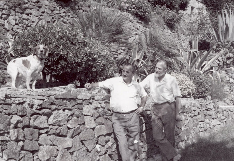 Asger Jorn e Berto Gambetta