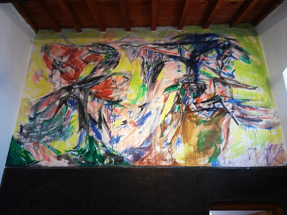 Asger Jorn, Murale