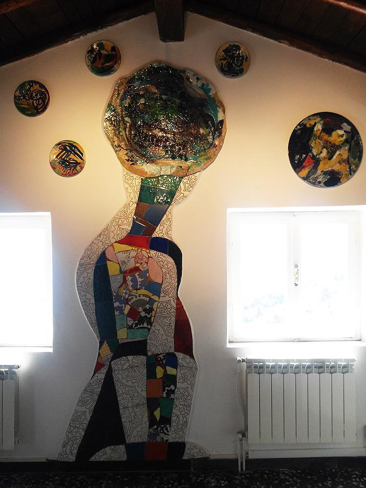 Il salotto di Casa Jorn