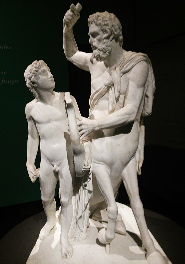 Bartolomeo Ferrari, Chirone ammaestra Achille nella musica