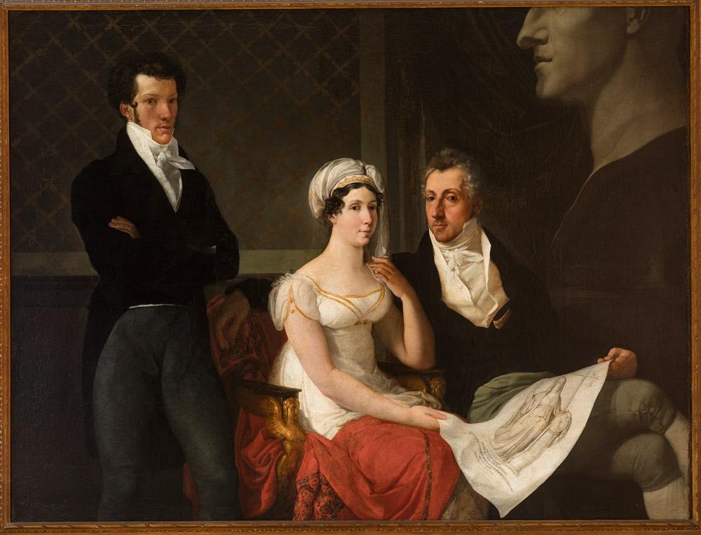 Francesco Hayez, Ritratto della famiglia Cicognara