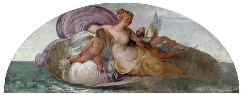 Francesco Hayez, Venere tra Eros e Anteros