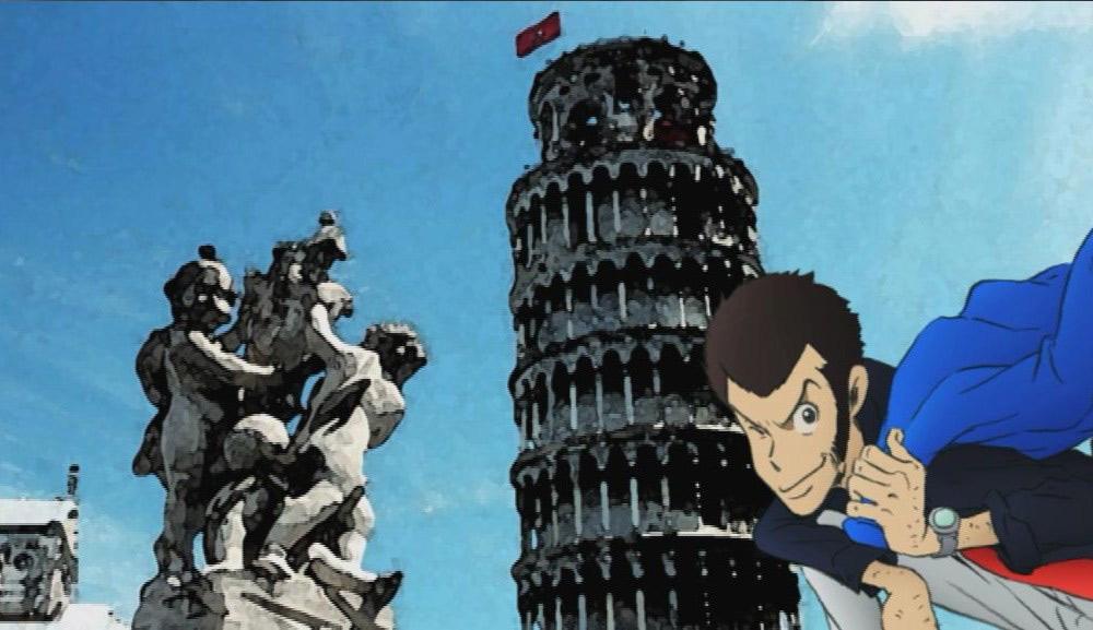 La Fontana dei Putti in Lupin III