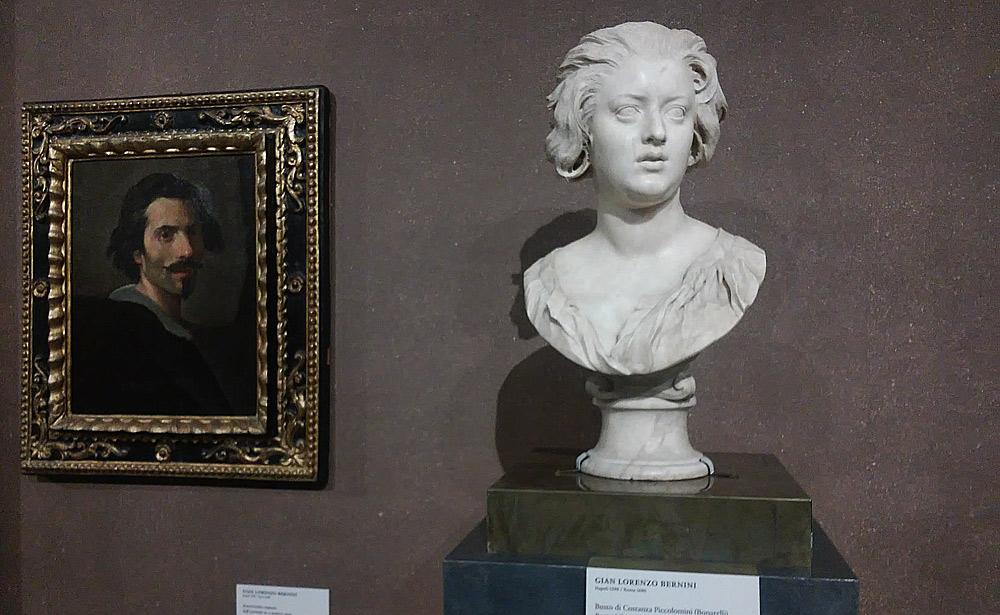 L'autoritratto di Gian Lorenzo Bernini e il busto di Costanza Bonarelli