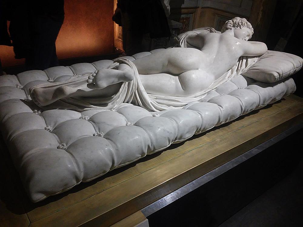 Gian Lorenzo Bernini, Materasso dell'Ermafrodito